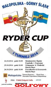 RYDER_CUP 2014  info plakat